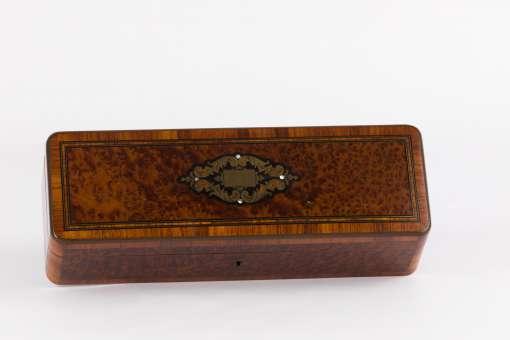 Mahogany & Root Wood Casket