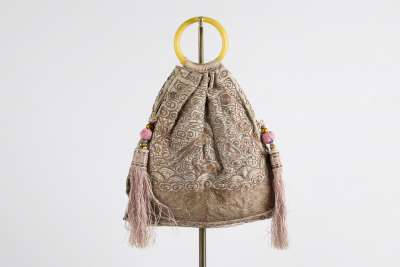 Chinese  Silk Bag
